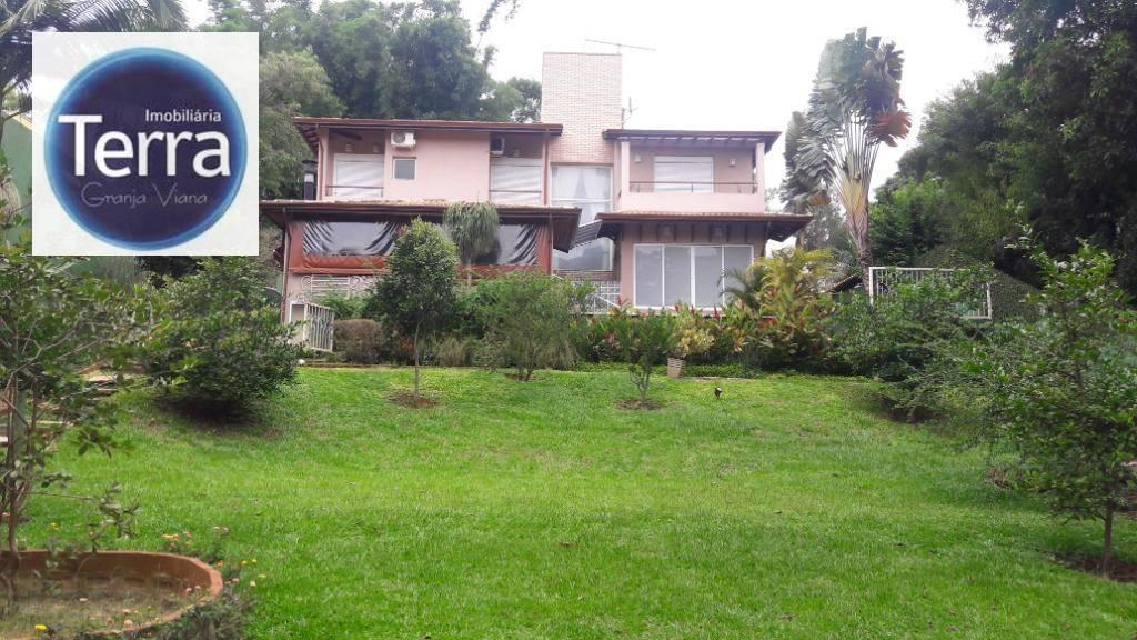 Casa com 4 dormitórios à venda, 375 m² por R$ 1.800.000 - Palos Verdes - Granja Viana.