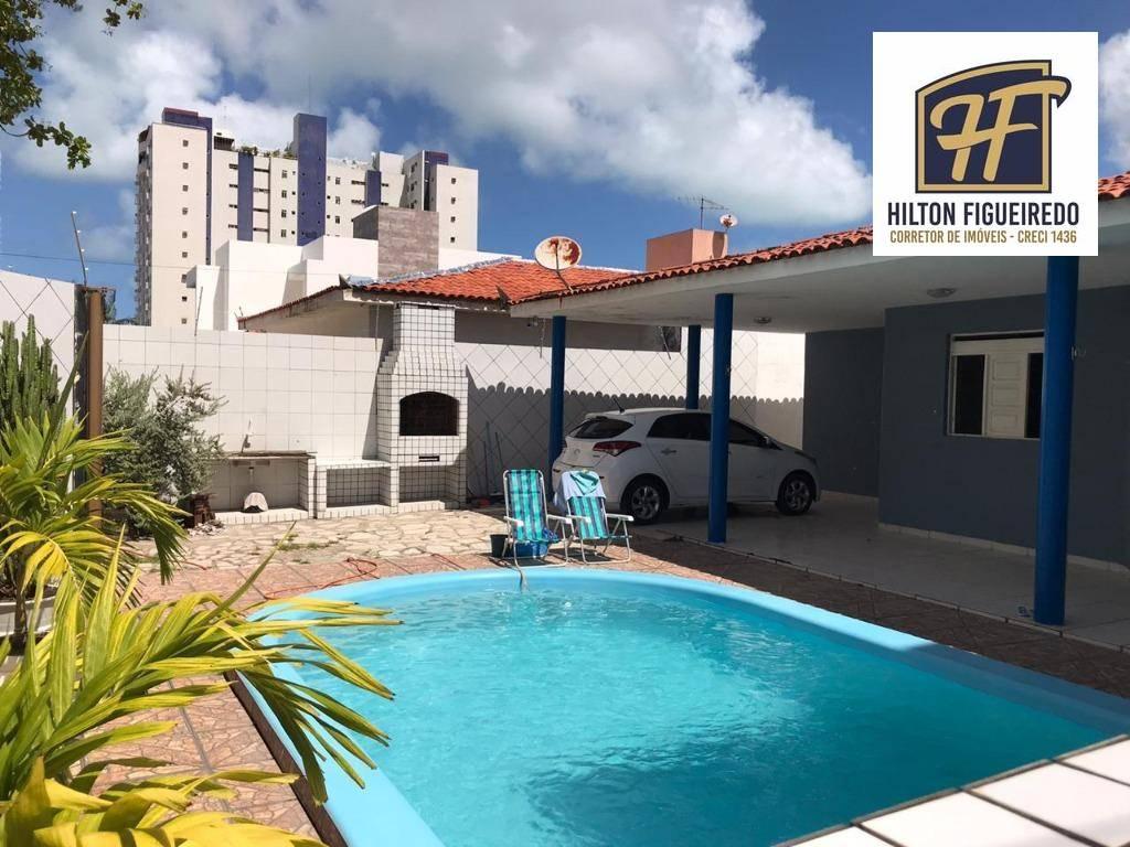 Casa com 3 dormitórios à venda, 152 m² por R$ 550.000 - Bessa - João Pessoa/PB