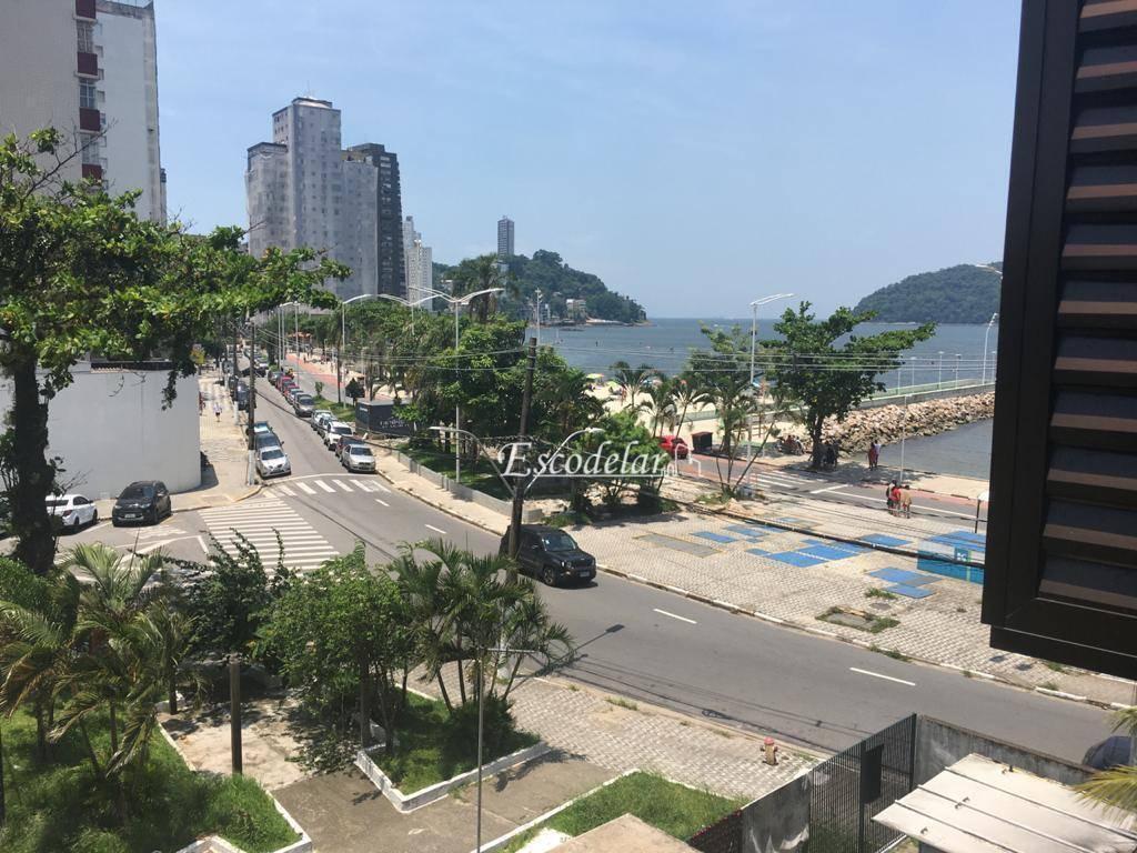 Apartamento com 3 dormitórios à venda, 126 m² por R$ 610.000,00 - Boa Vista - São Vicente/SP