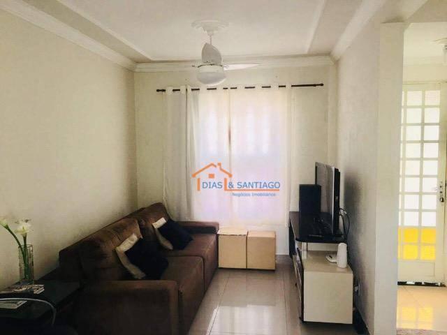 Sobrado com 3 dormitórios à venda por R$ 310.000 - Parque Villa Flores - Sumaré/SP