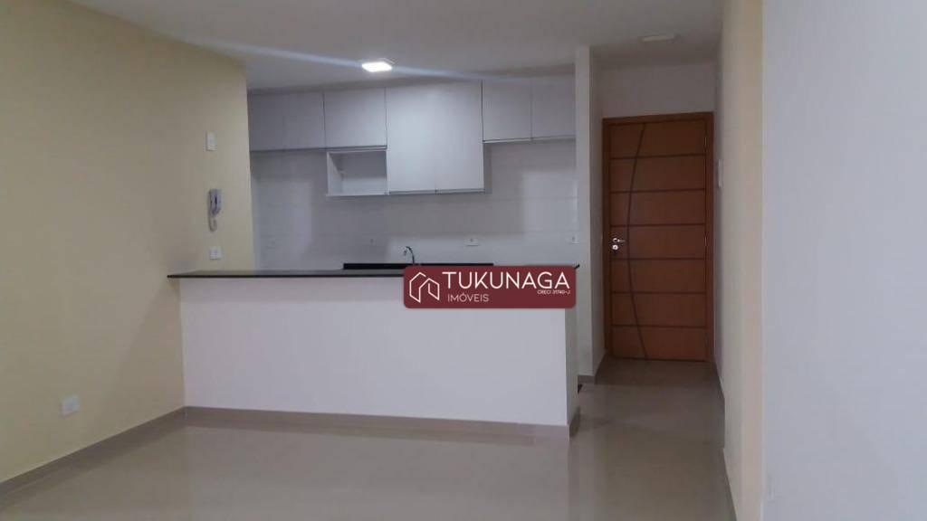 Apartamento com 3 dormitórios para alugar, 73 m² por R$ 1.500,00/mês - Ponte Grande - Guarulhos/SP