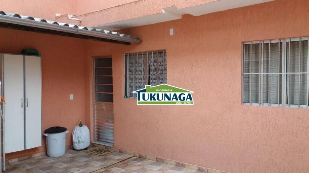 Sobrado com 1 dormitório para alugar, 80 m² por R$ 900,00/mês - Jardim Munhoz - Guarulhos/SP