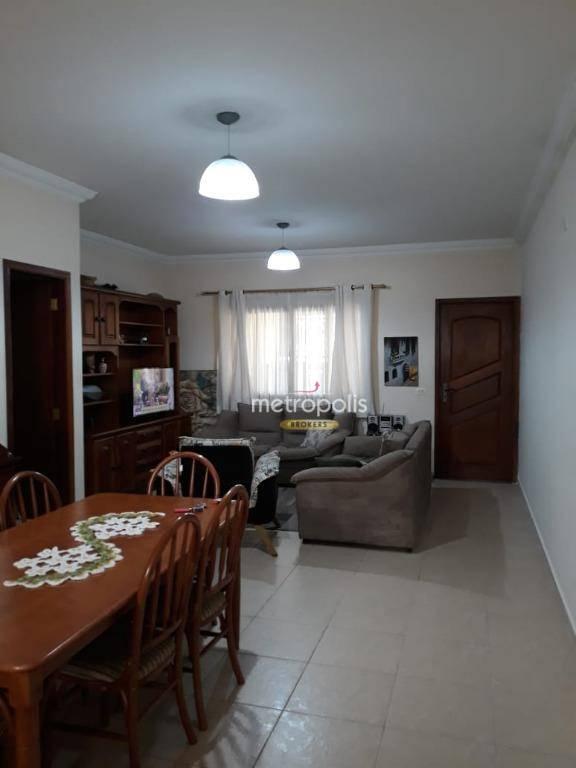 Sobrado com 3 dormitórios à venda, 181 m² por R$ 665.000 - Santa Paula - São Caetano do Sul/SP