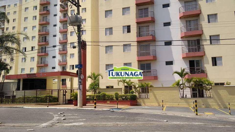 Apartamento com 2 dormitórios para alugar, 55 m² - Macedo - Guarulhos/SP
