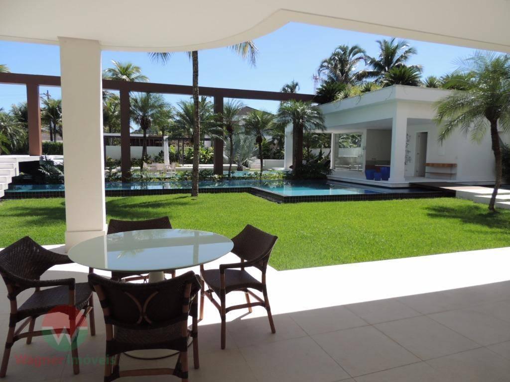 sobrado à venda no jardim acapulco em guarujá, sala para 3 ambientes com ar condicionado central...