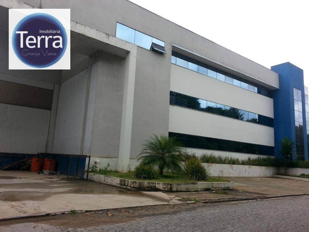 Galpão industrial para venda e locação, Industrial Trade Hill, Granja Viana-Cotia.
