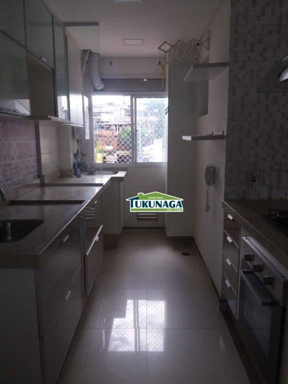 Apartamento com 3 dormitórios para alugar, 55 m² por R$ 0/mês - Jardim Santa Maria - Guarulhos/SP