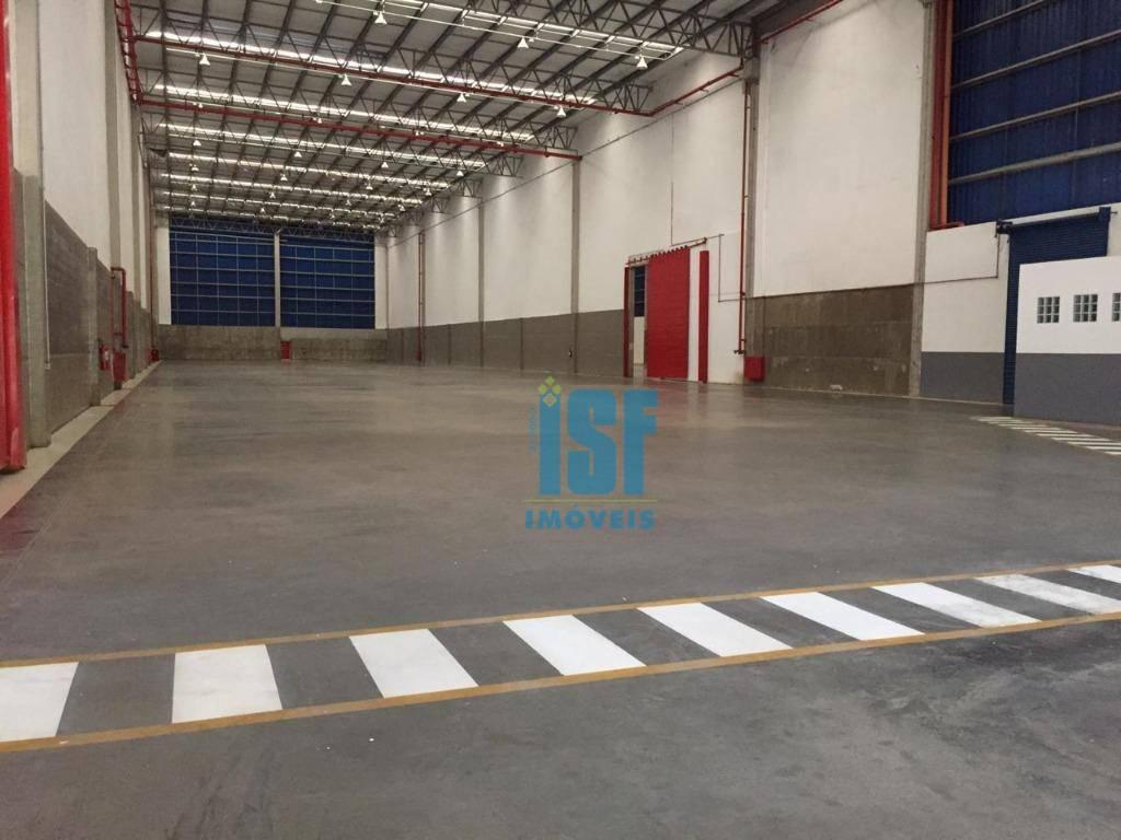 Terreno com 37.460 m² com 4 Galpões, sendo:  Galpão 2 para alugar, 6852,00 m² - Portais (Polvilho) - Cajamar/SP - GA0431.