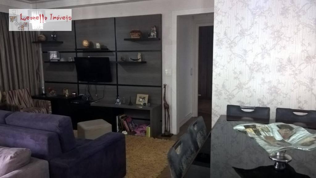 Apartamento à venda, 85 m² por R$ 525.000,00 - Jardim - Santo André/SP