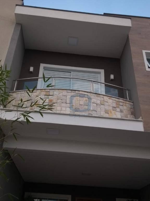 Sobrado com 3 dormitórios à venda por R$ 495.000 - Parque Jambeiro - Campinas/SP