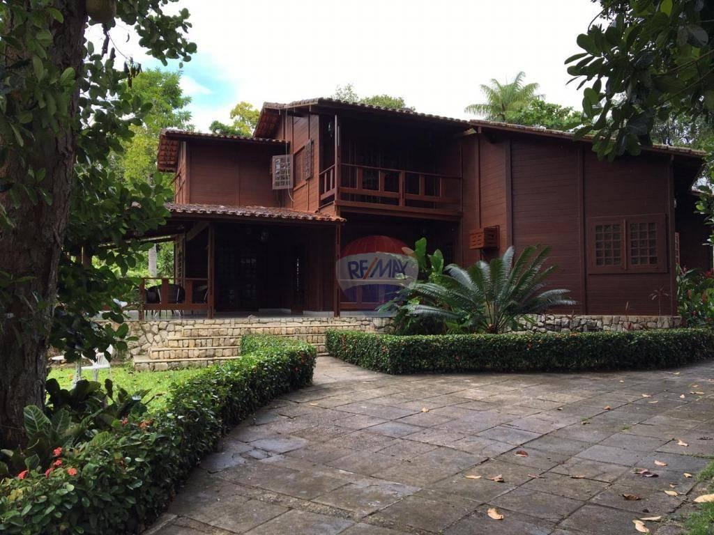 Casa com 7 dormitórios para alugar, 560 m² por R$ 3.000/mês - Aldeia dos Camarás - Camaragibe/PE
