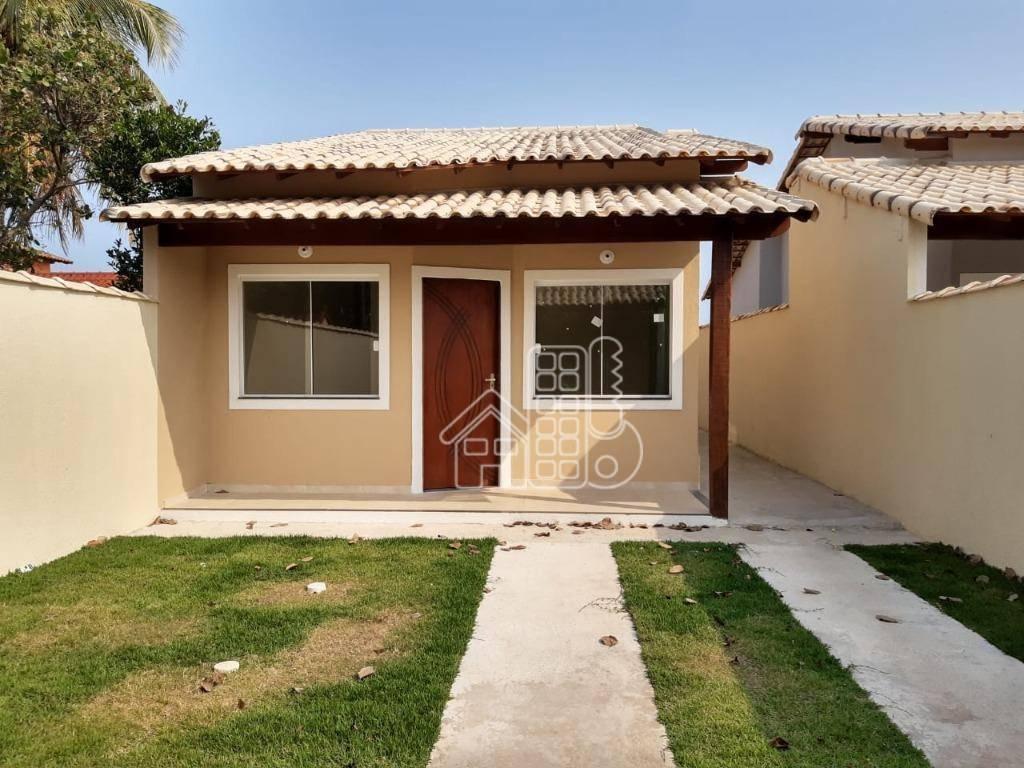 Casa com 2 dormitórios à venda, 70 m² por R$ 260.000,00 - Itaipuaçu - Maricá/RJ