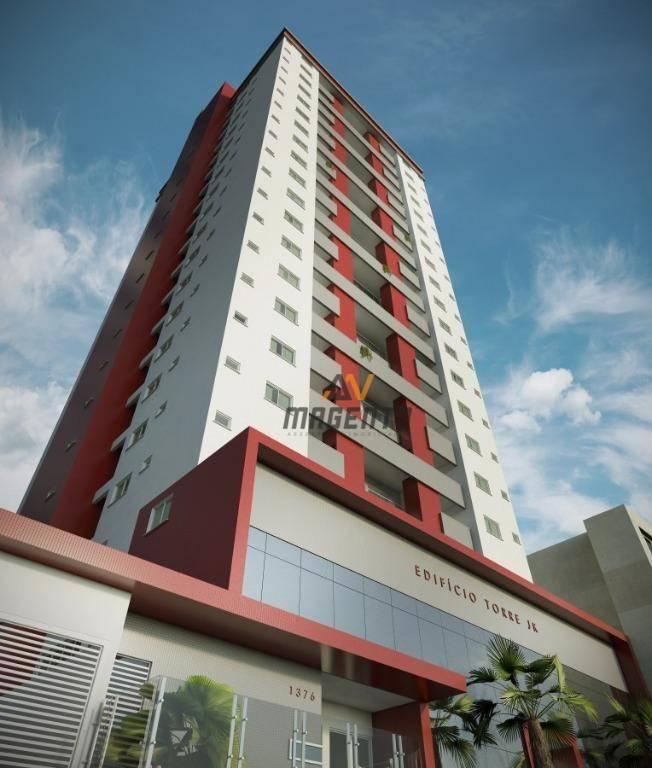 Apartamento com 2 dormitórios à venda, 88 m² por R$ 383.840 - Bairro Coqueiral - Cascavel/PR
