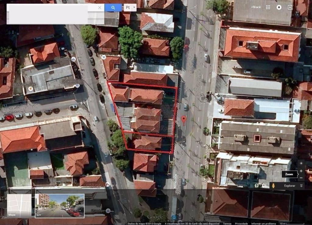 Terreno à venda, 980 m² por R$ 3.200.000,00 - Paquetá - Santos/SP