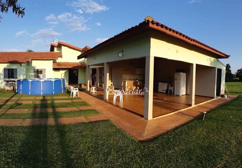 Casa com 4 dormitórios à venda, 290 m² por R$ 700.000,00 - Loteamento Rivieira de Santa Cristina Gleba I - Arandu/SP