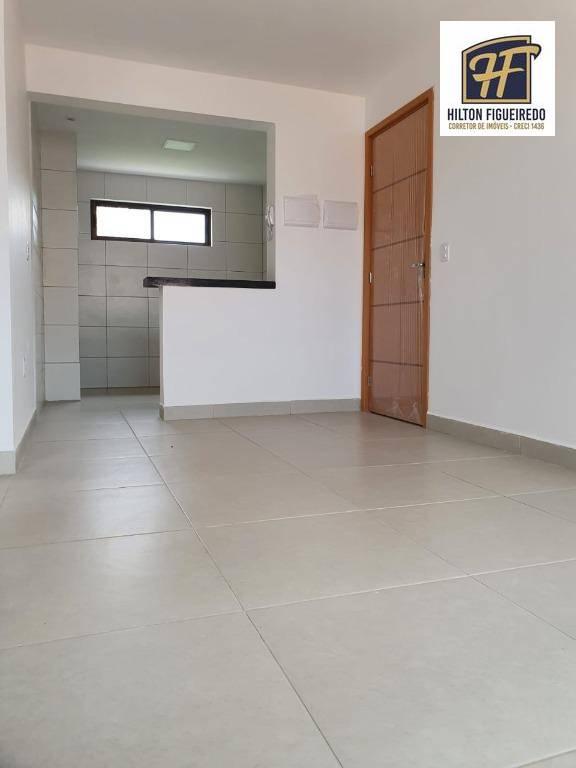 Apartamento com 2 dormitórios à venda, 50 m² por R$ 185.000,00 - Altiplano Cabo Branco - João Pessoa/PB