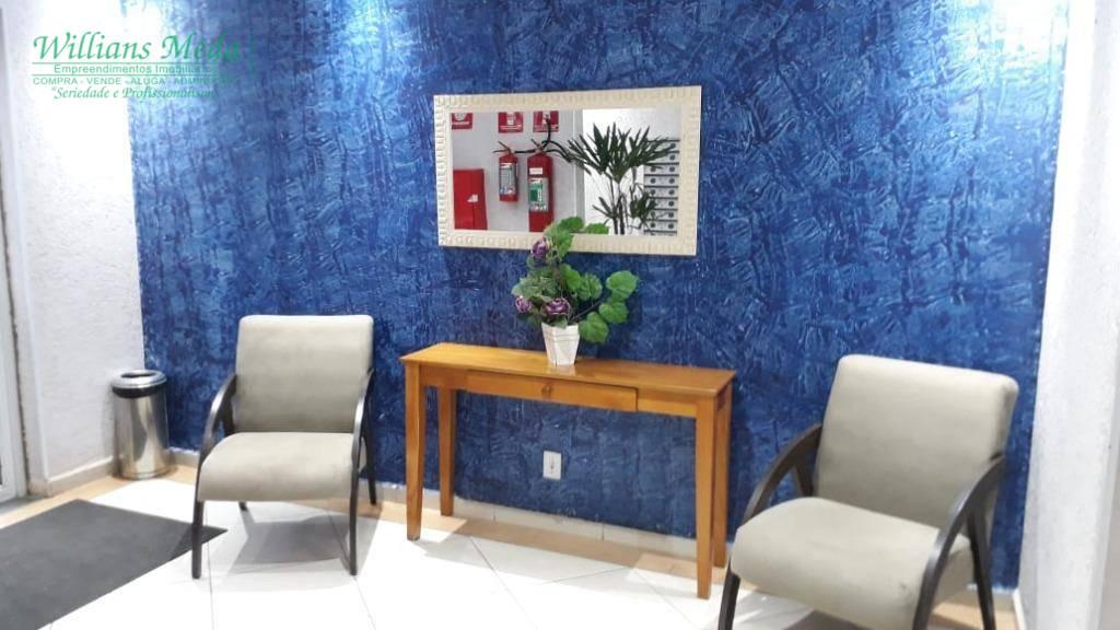 Apartamento com 2 dormitórios à venda, 48 m² por R$ 215. - Ponte Grande - Guarulhos/SP