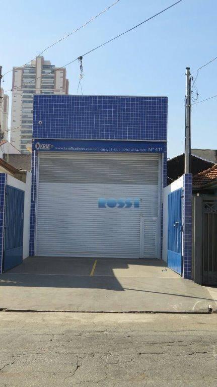 Galpão comercial para venda e locação, Alto da Mooca, São Paulo.