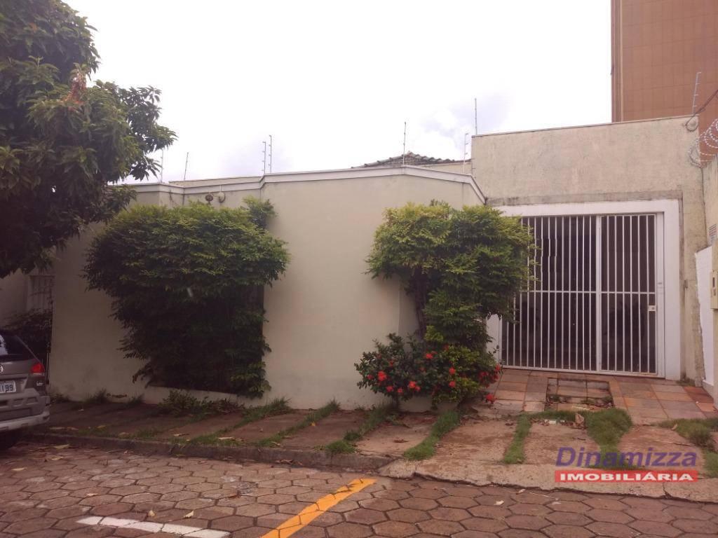 Casa com 4 dormitórios para alugar - Jardim Alexandre Campos - Uberaba/MG