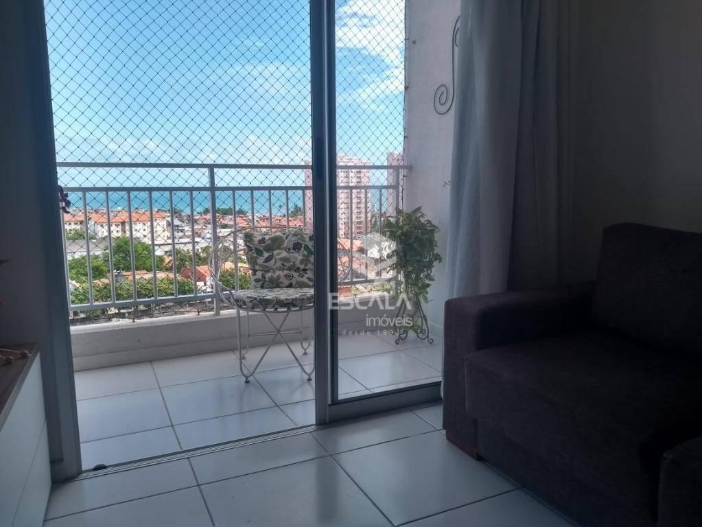 Apartamento com 2 quartos à venda, 54 m², financia - Jacarecanga - Fortaleza/CE