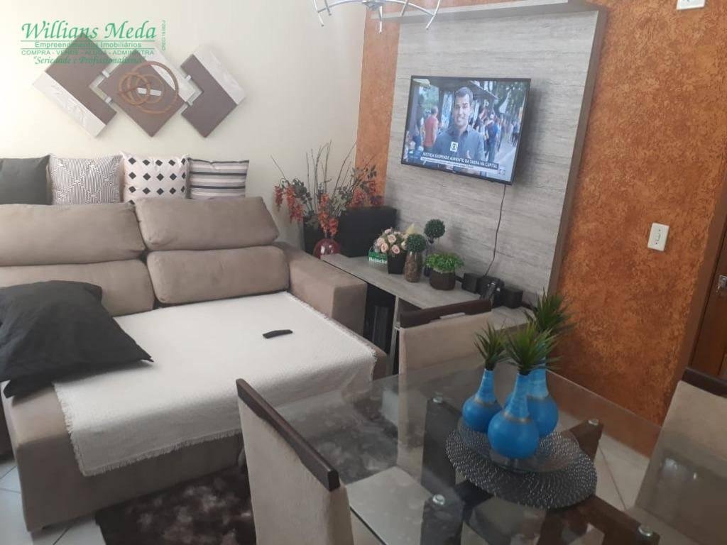 Apartamento com 2 dormitórios à venda, 47 m² por R$ 220.000 - Vila Galvão - Guarulhos/SP