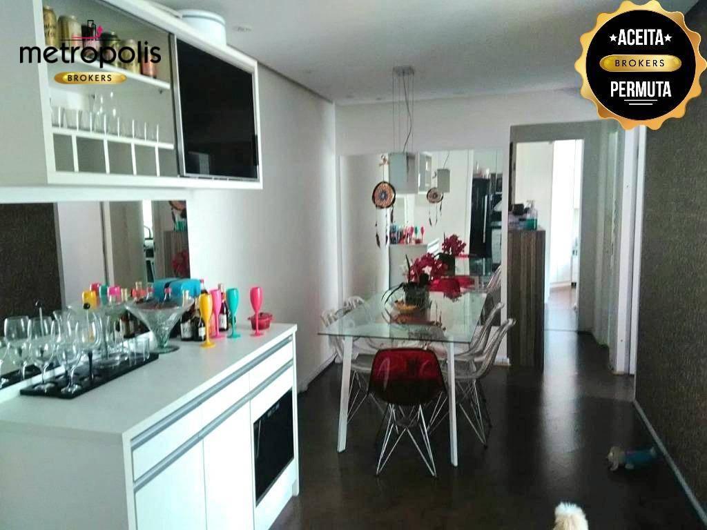 Apartamento com 2 dormitórios à venda, 67 m² por R$ 420.000 - Jardim - Santo André/SP