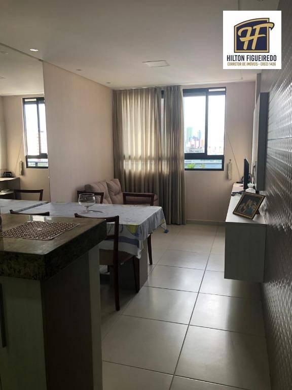 Apartamento com 2 dormitórios à venda, 55 m² por R$ 330.000 - Bessa - João Pessoa/PB