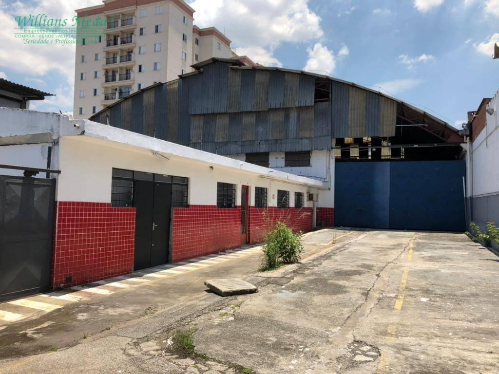Galpão comercial para locação, Ponte Grande, Guarulhos.