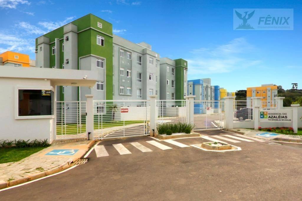 Apartamento com 2 dormitórios à venda, 42 m² por R$ 140.500