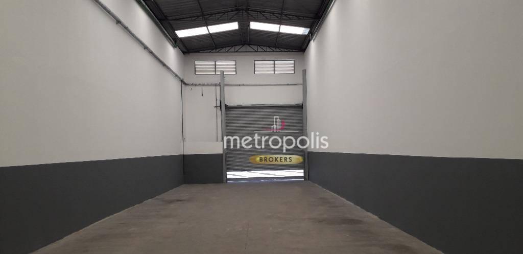 Galpão para alugar, 200 m² por R$ 4.000,00/mês - Fundação - São Caetano do Sul/SP