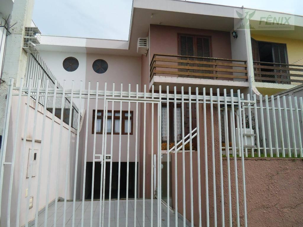 Sobrado residencial para locação, São Lourenço, Curitiba.