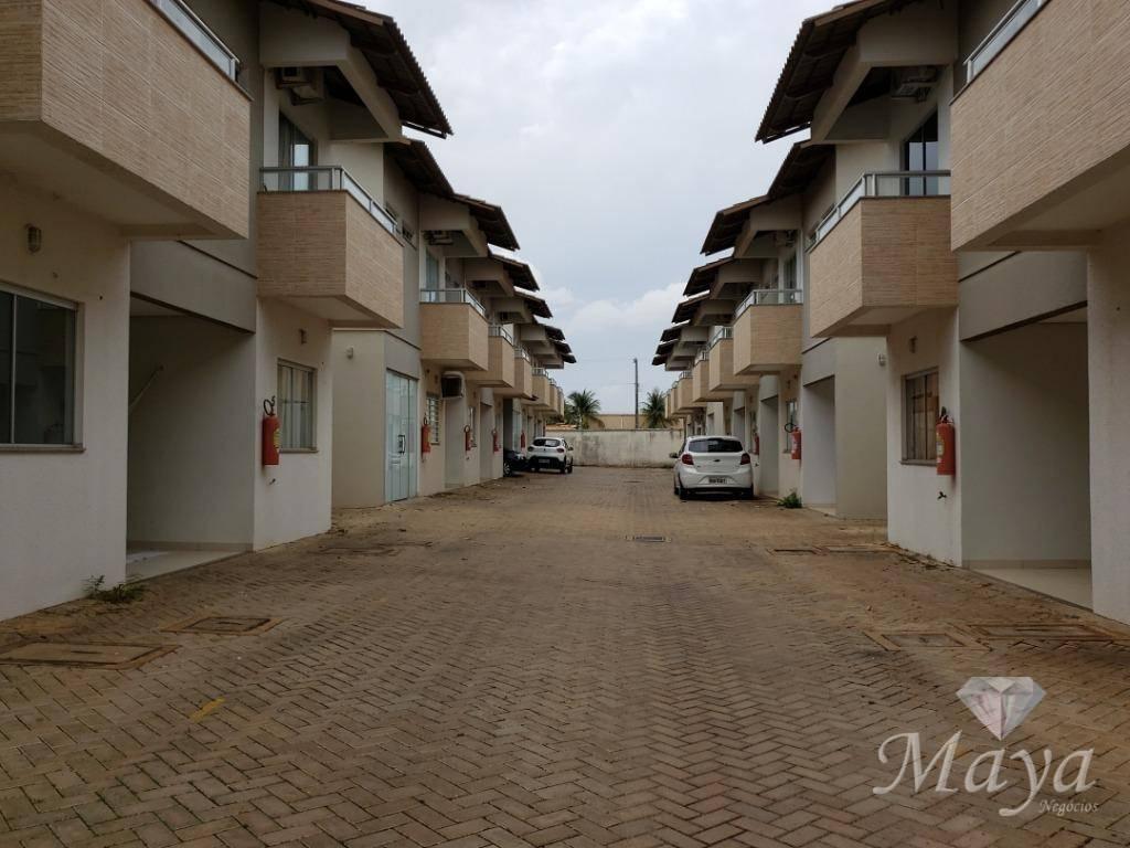 Sobrado 3 Quartos, 96 m² c/ quintal na 906 Sul - Cond. Riviera Residence