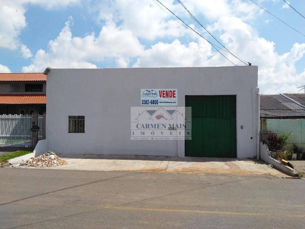 Barracão comercial à venda, Costeira, São José dos Pinhais.