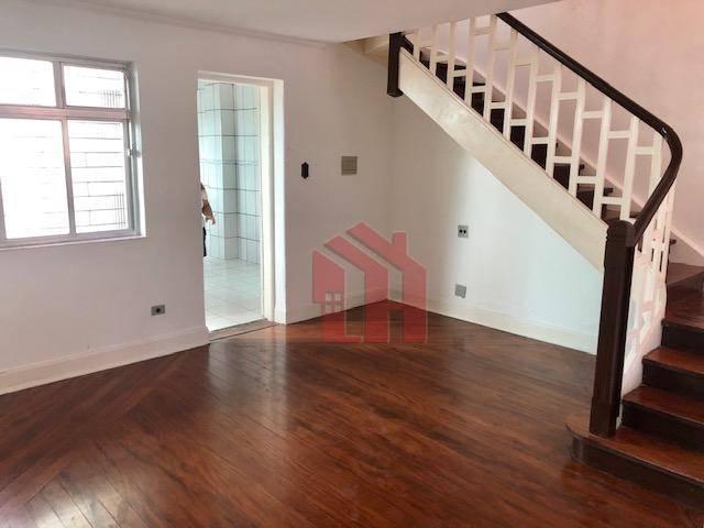Sobrado com 3 dormitórios para alugar, 220 m² por R$ 2.800/mês - Vila Belmiro - Santos/SP