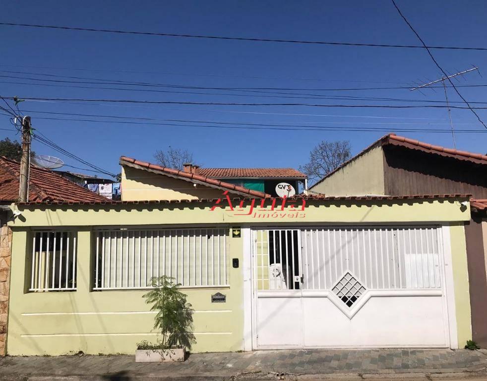 Casa com 3 dormitórios à venda, 188 m² por R$ 555.000,00 - Jardim Bom Pastor - Santo André/SP