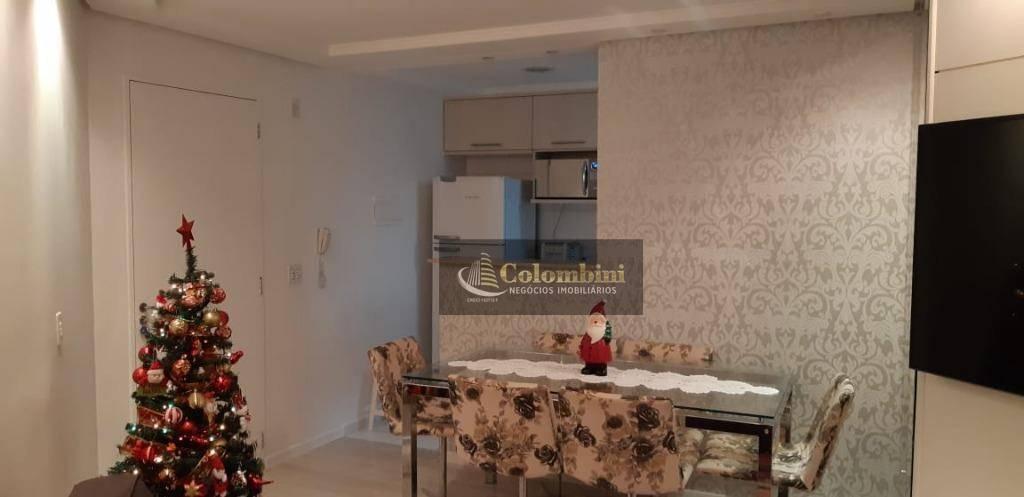 Apartamento com 2 dormitórios à venda, 52 m² - São João Clímaco - São Paulo/SP