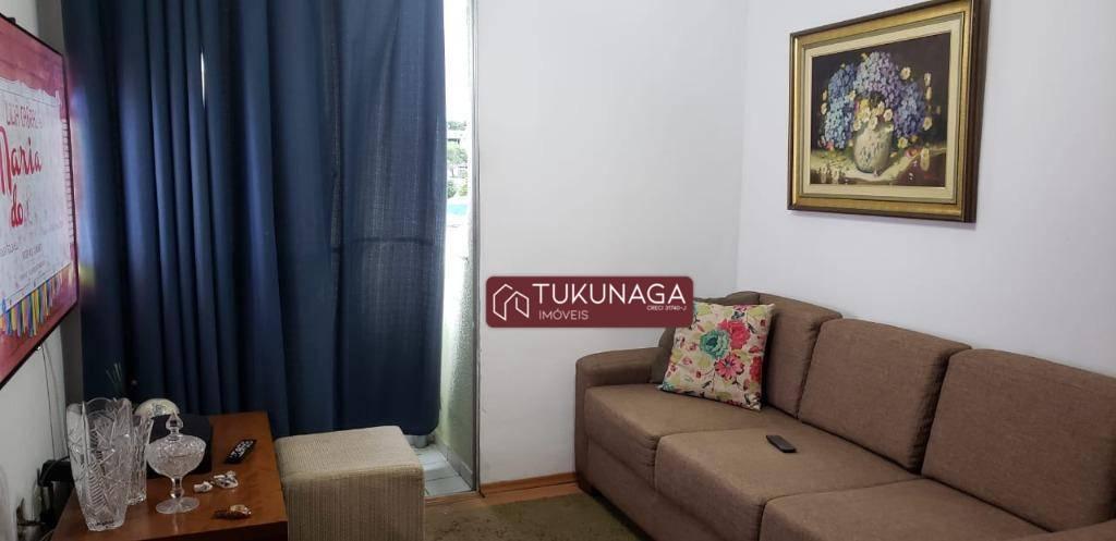 Apartamento com 2 dormitórios para alugar, 52 m² por R$ 885/mês - Vila Antonieta - Guarulhos/SP