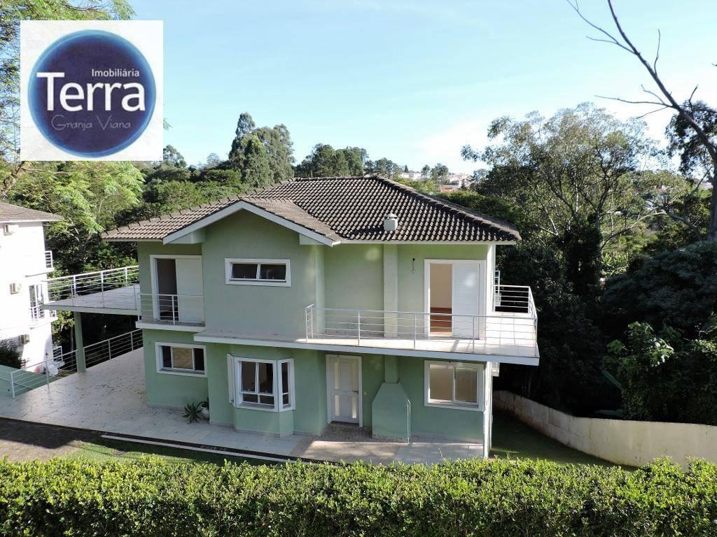 Casa residencial à venda e locação, Vila Moura, Granja Viana.