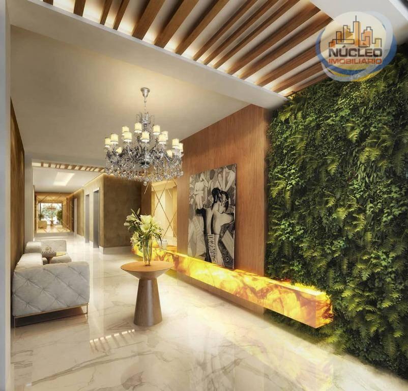 Apartamento com 3 Dormitórios à venda, 128 m² por R$ 936.806,20