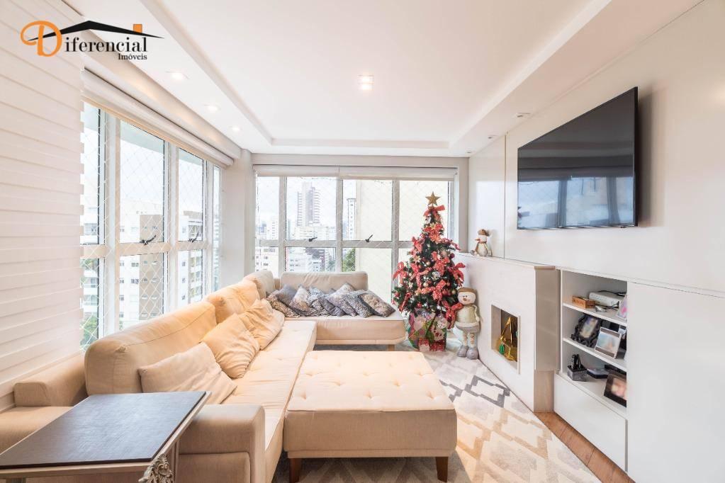 Apartamento com 3 dormitórios à venda, 138 m² por R$ 1.150.000,00 - Centro - Curitiba/PR