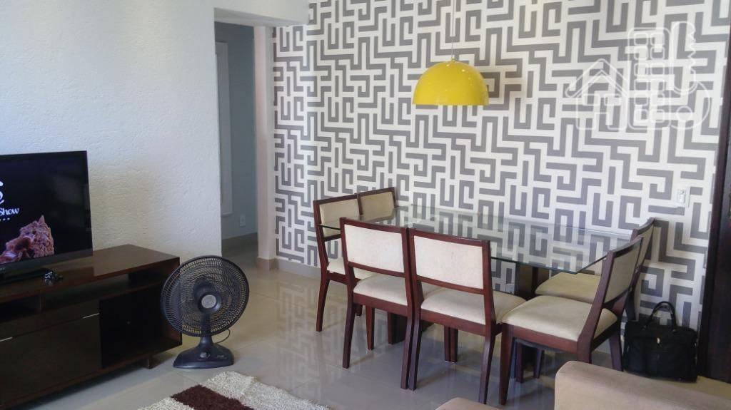 Apartamento mobiliado 2 quartos  São Domingos 5 min do Plaza e 8 min Barcas