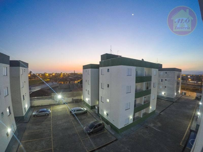 Apartamento à venda, 59 m² por R$ 170.000,00 - Flórida Mirim - Mongaguá/SP