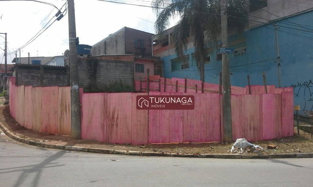 Terreno à venda, 150 m² por R$ 159.000 - Cidade Soberana - Guarulhos/SP