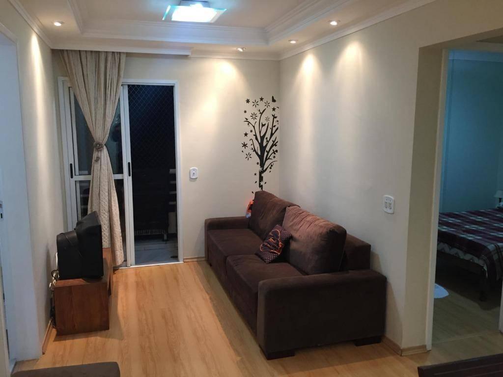 Apartamento residencial à venda! 52 m², 2 dorm C/ lazer completo!!! Aceito permuta carro e imóvel. Bairro Casa Branca, no Centro de Santo André.