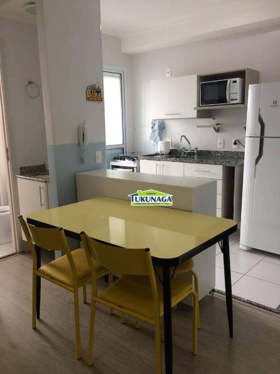 Studio com 1 dormitório à venda, 35 m² por R$ 215.000 - Gopoúva - Guarulhos/SP