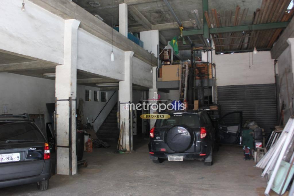 Galpão para alugar, 179 m² por R$ 10/mês - Centro - São Caetano do Sul/SP