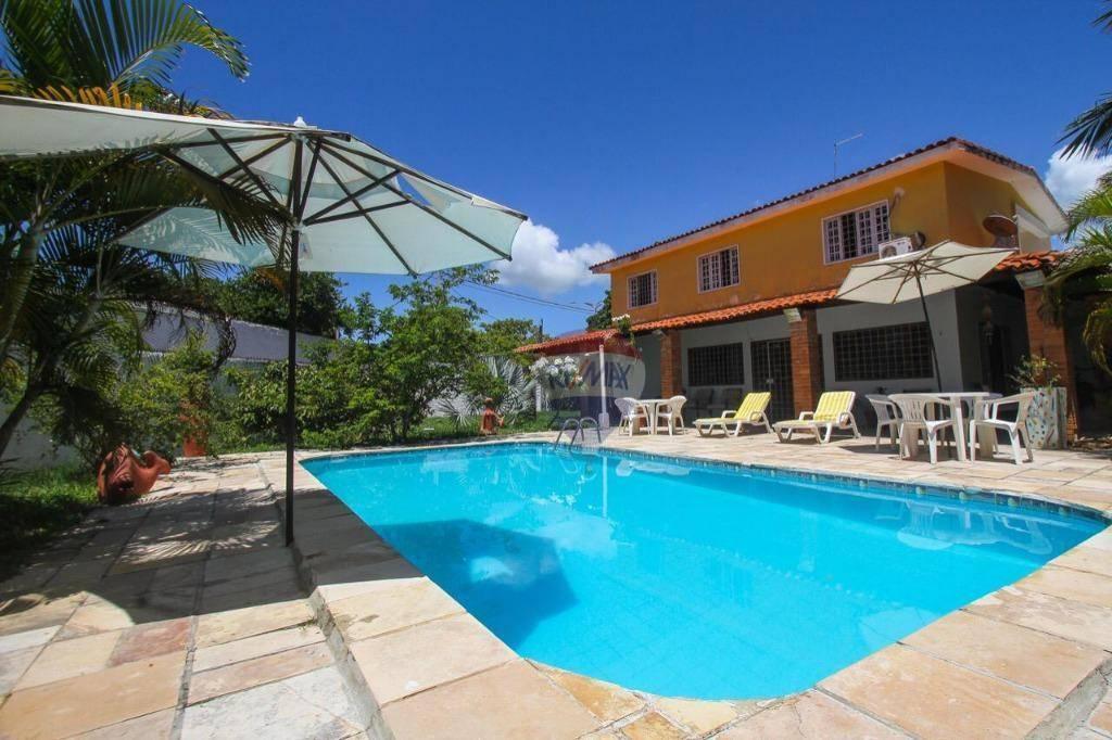 Casa com 4 dormitórios à venda, 273 m² por R$ 2.000.000,00 - Porto de Galinha - Ipojuca/PE