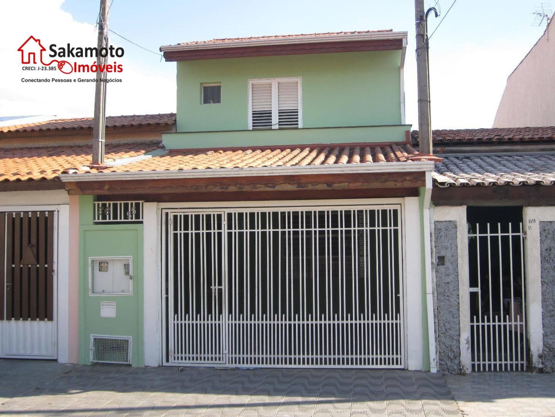 Sobrado residencial para venda e locação, Jardim Pacaembu, Sorocaba.