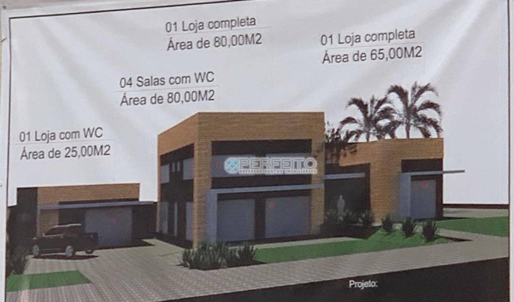 Loja para alugar, 80 m² por R$ 3.500,00/mês - Iguaçu - Londrina/PR