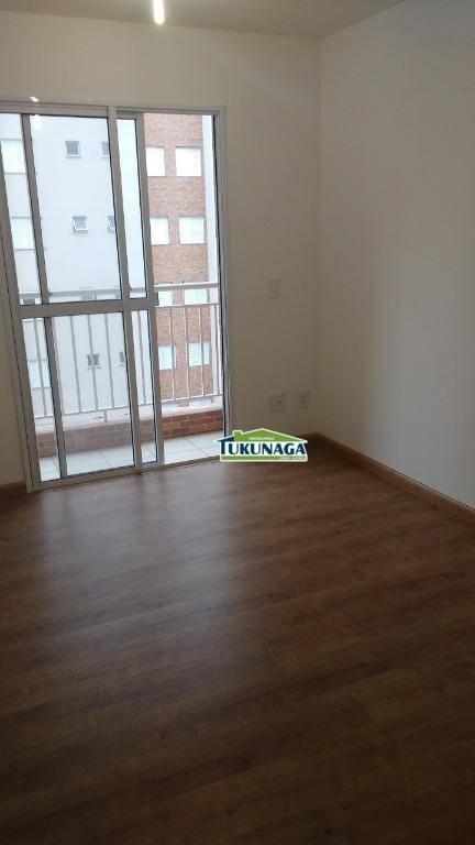 Apartamento com 2 dormitórios para alugar, 58 m² por R$ 1.300/mês - Jardim Flor da Montanha - Guarulhos/SP